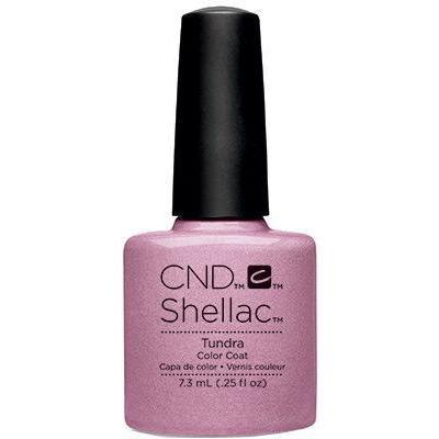 Bottle of Shellac Color Coat Tundra