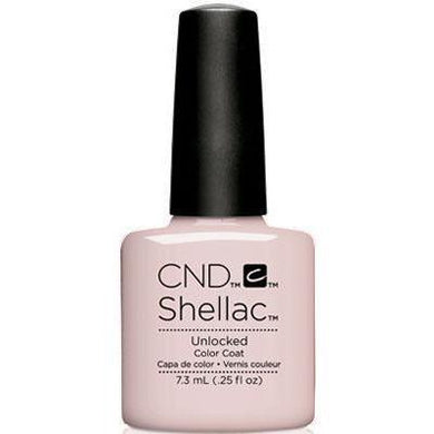 Bottle of Shellac Color Coat Unlocked