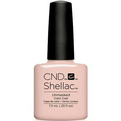 Bottle of Shellac Color Coat Unmasked