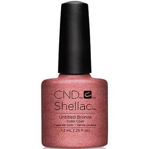 Bottle of Shellac Color Coat Untitled Bronze