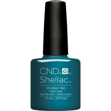 Bottle of Shellac Color Coat Viridian Veil
