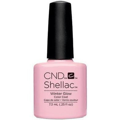 Bottle of Shellac Color Coat Winter Glow