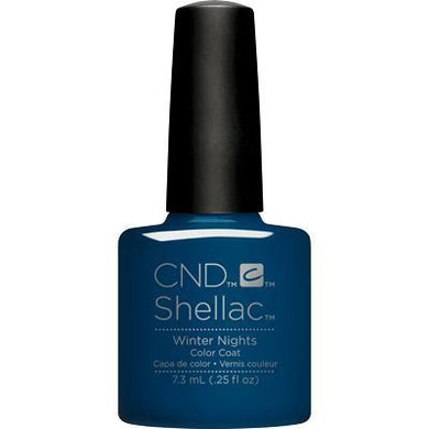 Bottle of Shellac Color Coat Winter Nights