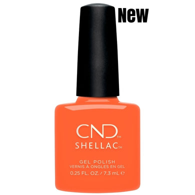 Bottle of Shellac B Day Candle Color Coat