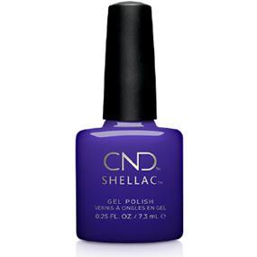 Bottle of Shellac Blue Moon Color Coat