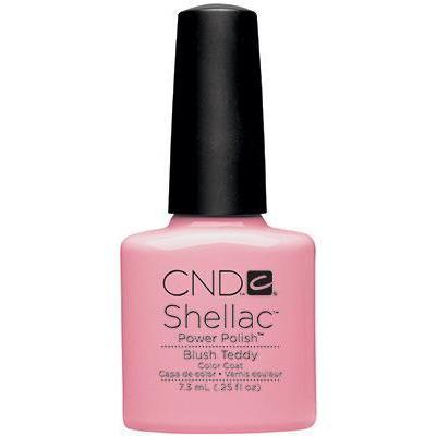 Bottle of Shellac Blush Teddy Color Coat