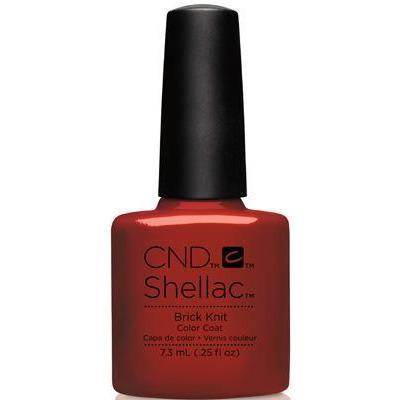 Bottle of Shellac Brick Knit Color Coat