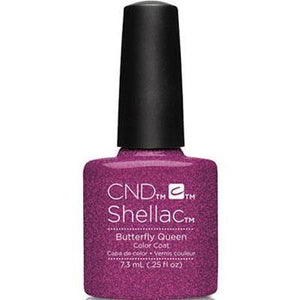Bottle of Shellac Butterfly Queen Color Coat