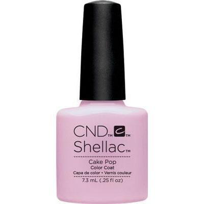 Bottle of Shellac Cake Pop Color Coat
