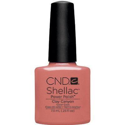 Bottle of Shellac Clay CanyonColor Coat