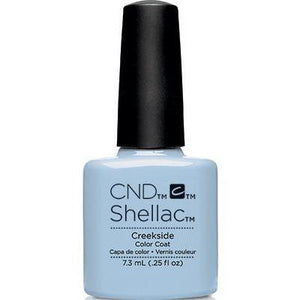 Bottle of Shellac Creekside Color Coat