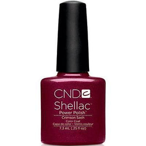 Bottle of Shellac Crimson Sash Color Coat