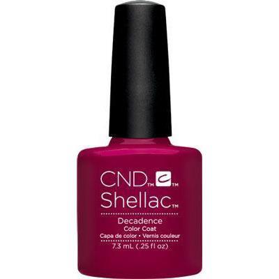 Bottle of Shellac Decadence Color Coat