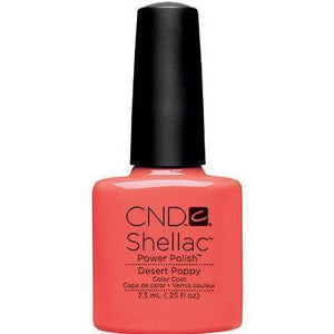 Bottle of Shellac Desert Poppy Color Coat