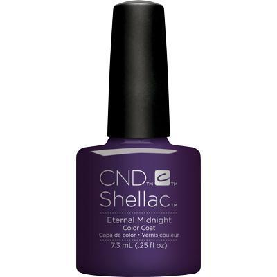 Bottle of Shellac Eternal Midnight Color Coat