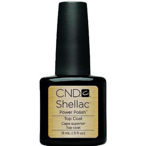 Bottle of CND Shellac .5oz Original Top Coat