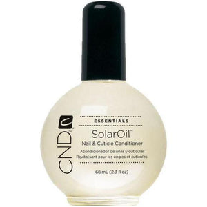 Bottle of 2.3oz Solar Oil Cuticle Conditioner.