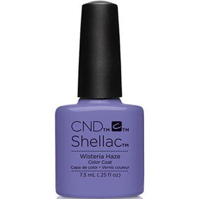 Bottle of Shellac Color Coat Wisteria Haze