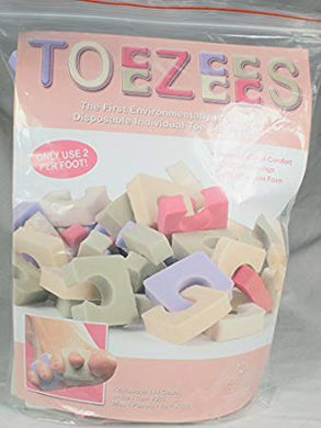 Star Nail Toezees-Pastels 144 Pieces