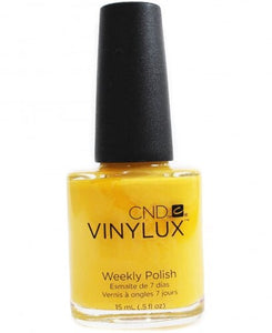Bottle of Vinylux Banana-Clips Weekly Polish