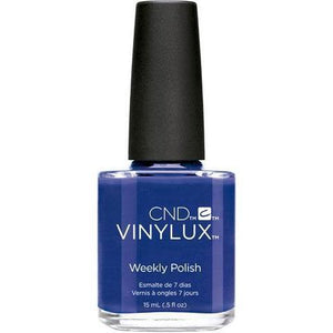 Bottle of Vinylux Blue-Eyeshadow Weekly Polish