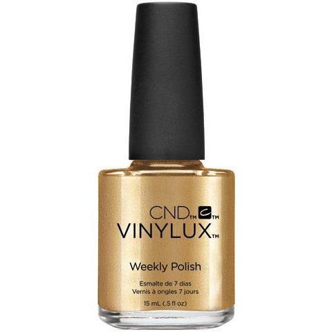 Bottle of Vinylux Brass-Button Weekly Polish