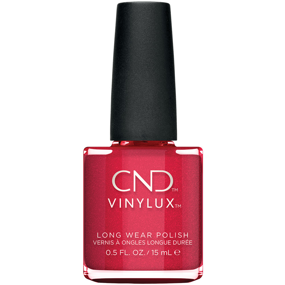 Bottle of Vinylux Kiss of Fire Weekly Polish