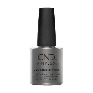 Bottle of Vinylux Gel-Like Effect Top Coat .5oz