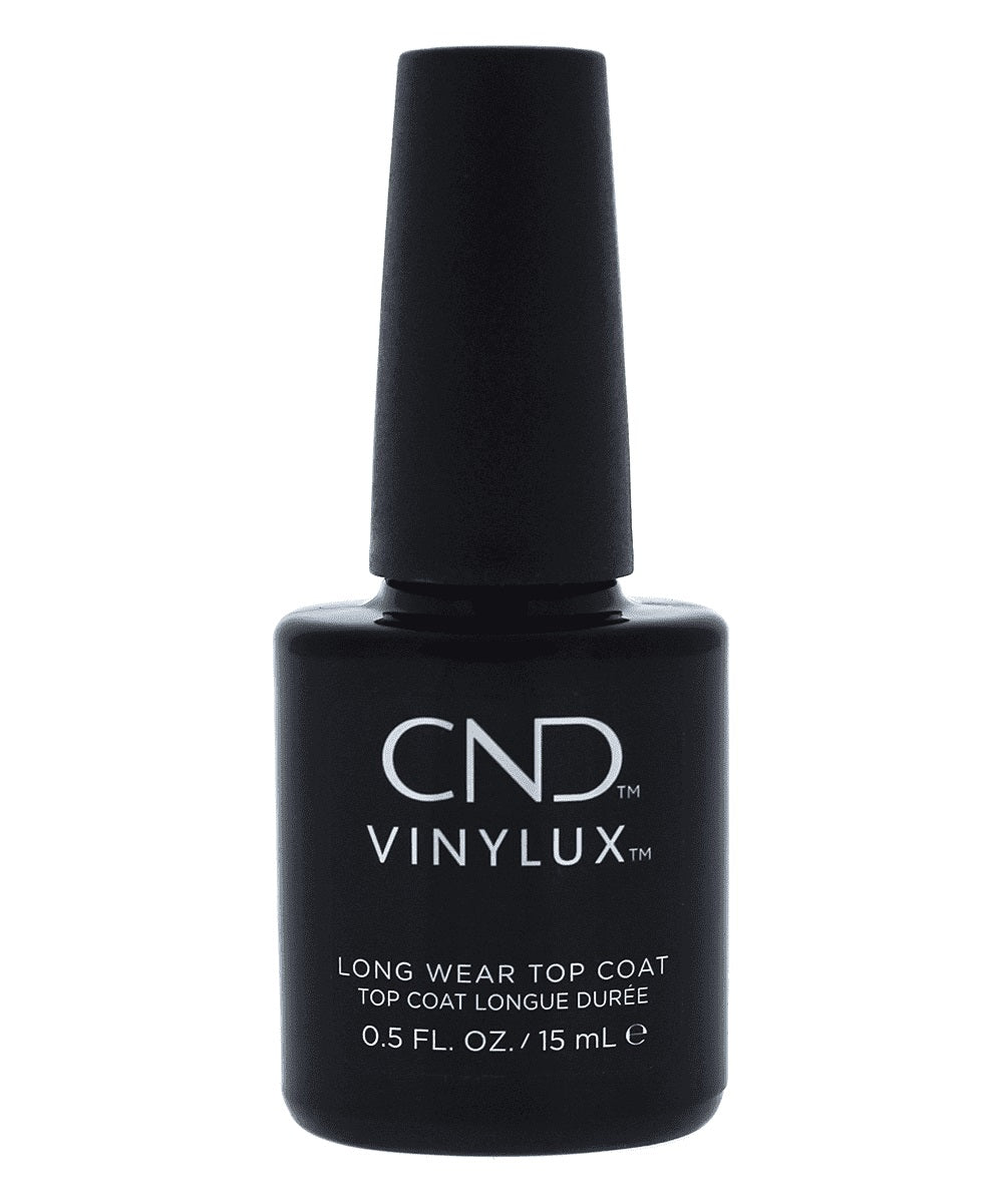 Bottle of Vinylux Long Wear Top Coat .5oz
