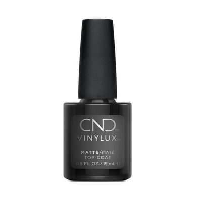 Bottle of Vinylux Matte Top Coat .5oz