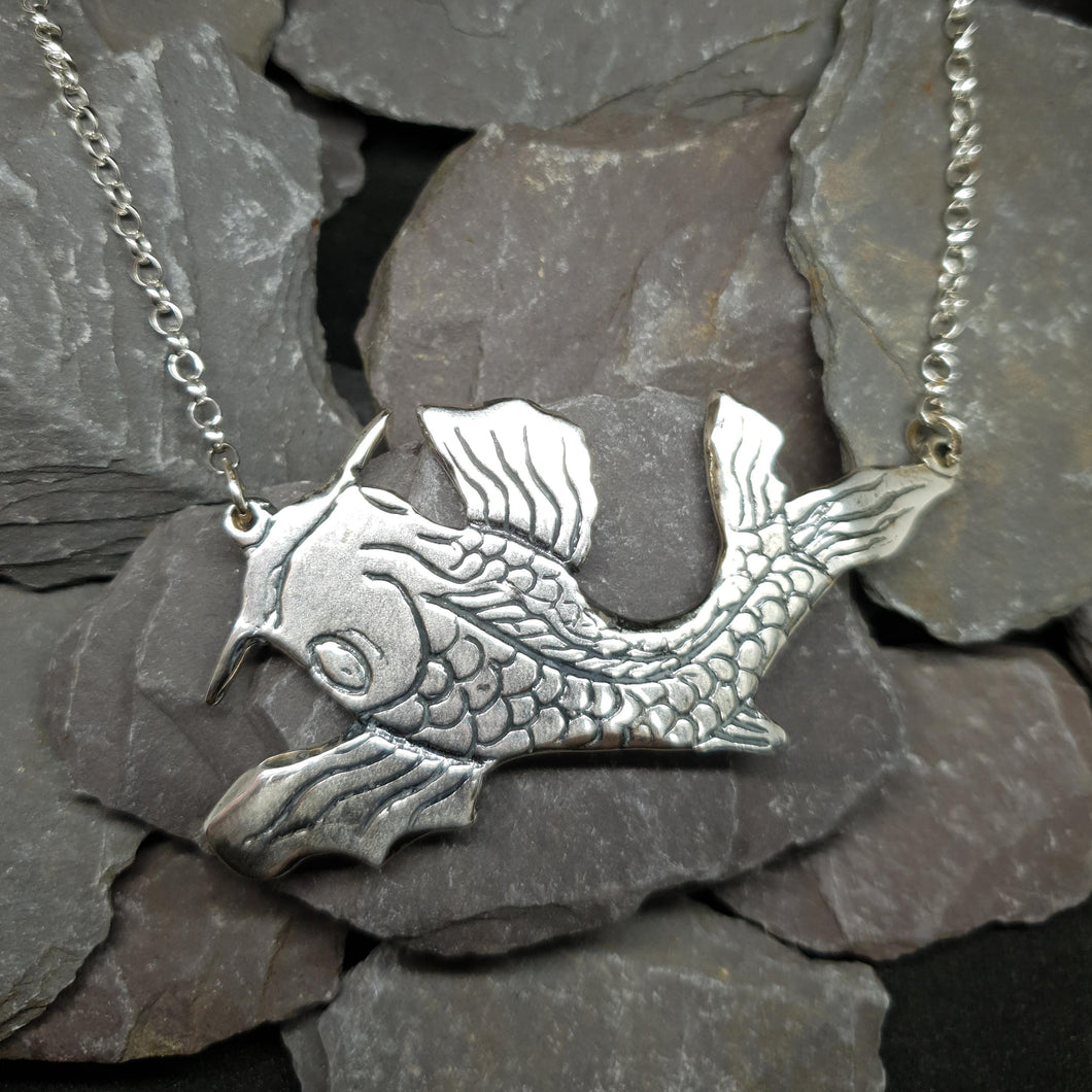 Lucky Koi necklace