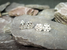 Load image into Gallery viewer, Snowflake stud earrings