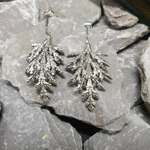 Conifer earrings