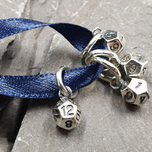 Load image into Gallery viewer, Set of 7 Dice charms