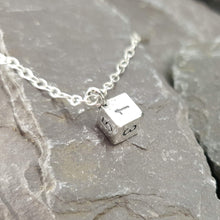 Load image into Gallery viewer, D6 necklace