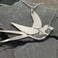 Load image into Gallery viewer, Swallow charity pendant