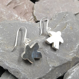Large Meeple earrings