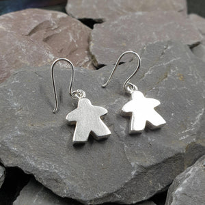Meeple earrings