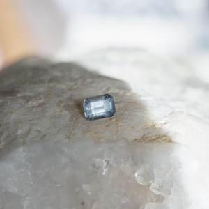 1.84 Carat Light Purple Radiant Cut Montana Sapphire