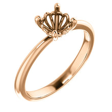 Load image into Gallery viewer, Sharaya 4-Prong Solitaire Setting
