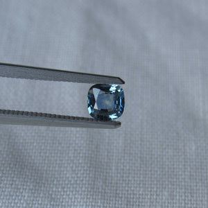 Genuine Montana Sapphire Blue Cushion Cut .56 carat Loose Gemstone