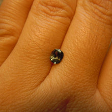 Load image into Gallery viewer, Montana Sapphire Color Change .61 carat Blue Gray Green Yellow Cushion Cut