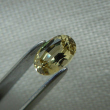 Load image into Gallery viewer, Golden Yellow Oval Cut Fancy Montana Sapphire .60 carat