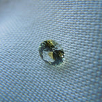 Load image into Gallery viewer, Genuine Montana Sapphire Round Brilliant .60 carat White and Yellow Loose Gemstone