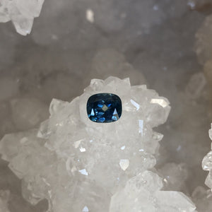 Montana Sapphire Cushion Cut 1.60 carat Blue Yellow