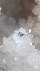 Montana Sapphire .66 Carat Silver With a Hint of Blue Brilliant Hexagon Cut