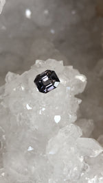 Load image into Gallery viewer, Spinel Grayish Purple Emerald Cut 1.43 Carat