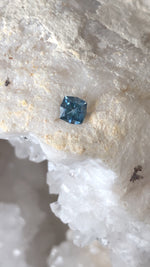 Load image into Gallery viewer, Montana Sapphire .89 Carat Blue Square Brilliant