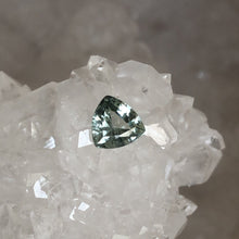 Load image into Gallery viewer, Montana Sapphire .66 Carat Green Trillion Cut