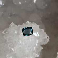 Load image into Gallery viewer, Spinel Dark Teal Cushion Cut .94 Carat